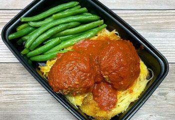 Beef Meatballs With Spaghetti Squash