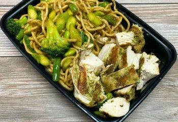 Chicken & Jade Noodles