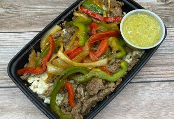Beef Enchilada Bowl Low Carb